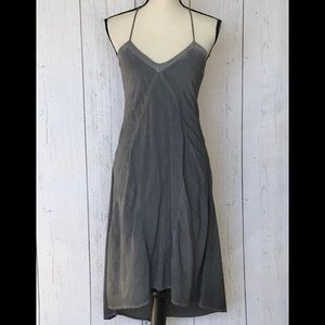 DKNY Jeans Gray Halter Dress